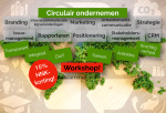 Circulair ondernemen: taak voor communicatie & marketing!